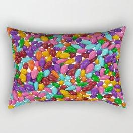Candy Covered Sunflower Seeds Rectangular Pillow