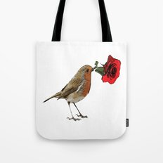 Bird & Rose Tote Bag