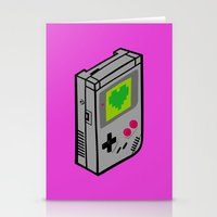 gameboy Stationery Cards featuring Gameboy Love by Artistic Dyslexia
