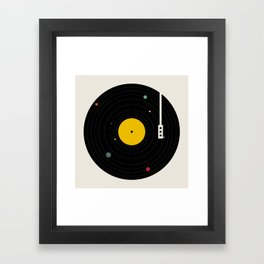 Music, Everywhere Framed Art Print