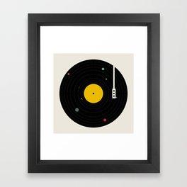 Music, Everywhere Framed Art Print
