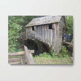 Old Farm Building Metal Print