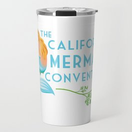 Simple Logo ·•· California Mermaid Convention Travel Mug