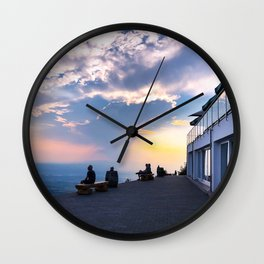 Best Seat in the Sky Wall Clock