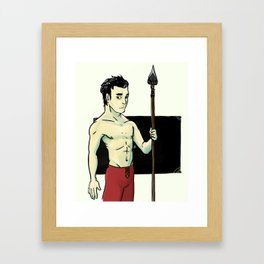 Son of the Rift Framed Art Print