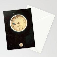 Retro Clock Stationery Cards