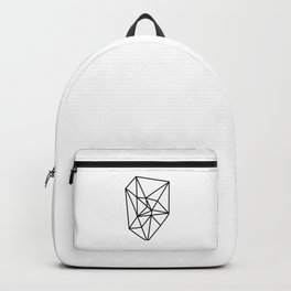 Almost geometric jewel piece Backpack