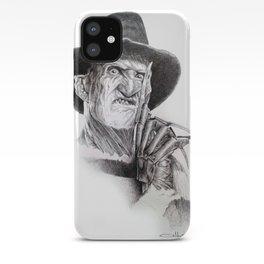 Freddy krueger nightmare on elm street iPhone Case