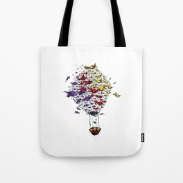 BIRD BALLON Tote Bag