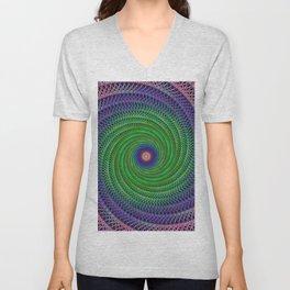 Swirl Unisex V-Neck