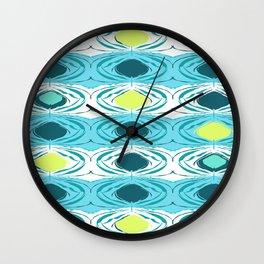 Aqua Sonic pattern Wall Clock