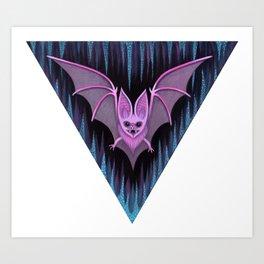 Through the Vortex Flow Art Print