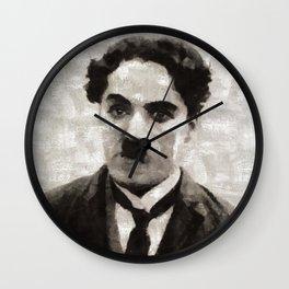 Charlie Chaplin, Compedy Legend Wall Clock