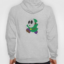 Green Shy Guy Splattery Design Hoody