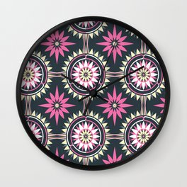 Daisy Chain (Patterned) Wall Clock