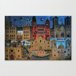 Tiled Mosaic Canvas Print