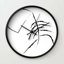 Sad Figure Wall Clock