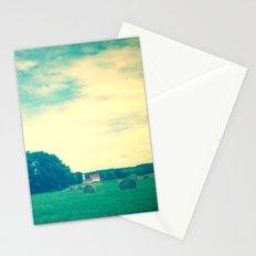 Summer Hay Field Stationery Cards