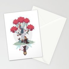 Under the family tree Stationery Cards
