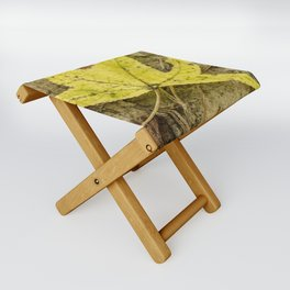 The Yellow Leaf Folding Stool