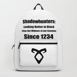 Shadowhunters: Looking Better in Black Backpack