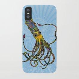 Electric Squid iPhone Case