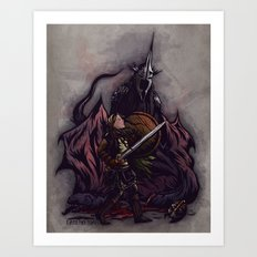 I Am No Man - An Ode to Éowyn Art Print