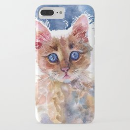 Red kitten iPhone Case