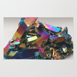 Titanium Rainbow Aura Quartz 1 Rug