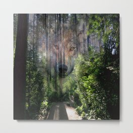 The Spirit of the Wild Metal Print