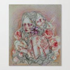 Lovely Skin Canvas Print
