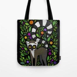 Lemur Tote Bag