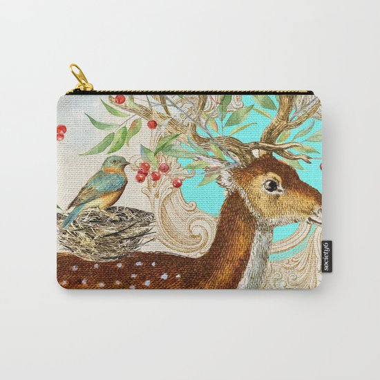 Winter animal #12 Carry-All Pouch