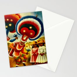 Oaxaca Mexico Vintage Travel Stationery Cards