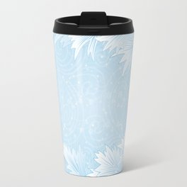 Winter background Travel Mug