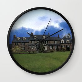 Pearl S. Buck House Wall Clock