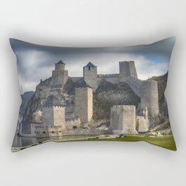 Golubac fortress - the magic place Rectangular Pillow