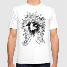 Hawk  SMALL Mens Fitted Tee White