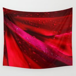 Red Ti - The Queen of Tropical Foliage Wall Tapestry