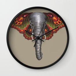 """Elephoth"" Wall Clock"