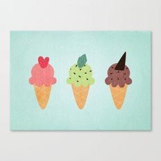 Ice Cream Fantasy Canvas Print