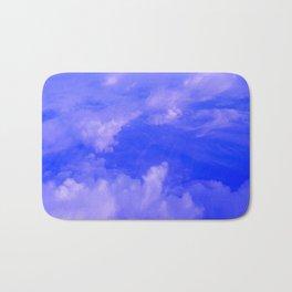 Aerial Blue Hues III Bath Mat