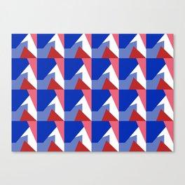 El Blue Cruce Canvas Print