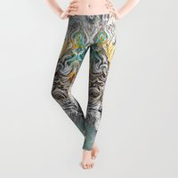 soul Leggings featuring Tribal°Soul^ by ChiTreeSign