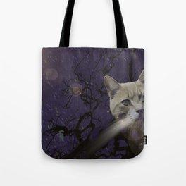 Skat Cat Tote Bag