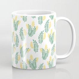 Mimosa flowers pattern Coffee Mug