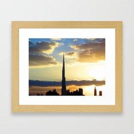 dubai Framed Art Print