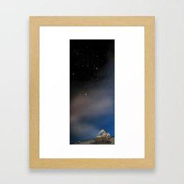 I Am Closer Than You Think Framed Art Print