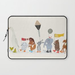 splish splash Laptop Sleeve