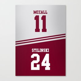 McCall & Stilinski Canvas Print